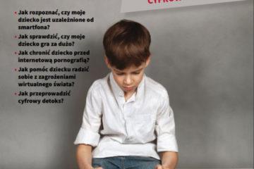 Plakat - dzieci w wirtualnej sieci