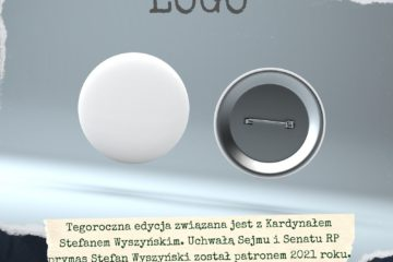 Plakat reklamujący konkurs na logo rajdu