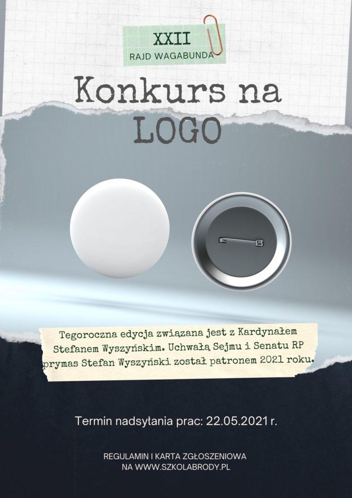 Plakat reklamujący konkurs nalogo rajdu