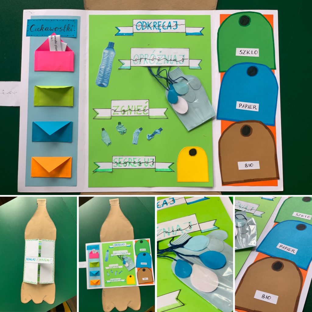 Praca uczniów - lapbook